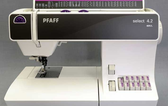 Pfaff Select 4.2 : 5 points que j'aime